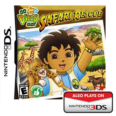 Go Diego Go!: Safari Rescue - NDS