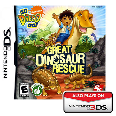 Go Diego Go: The Great Dinosaur Rescue - NDS