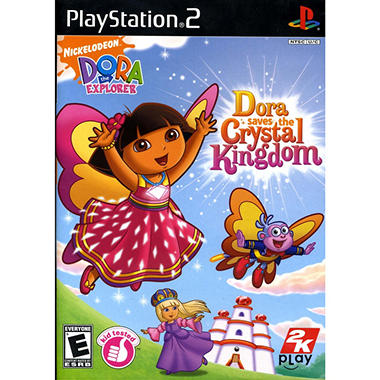 Dora the Explorer: Dora Saves the Crystal Kingdom - PS2