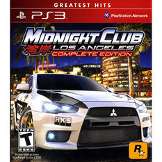 Midnight Club: Los Angeles -Complete Edition - PS3