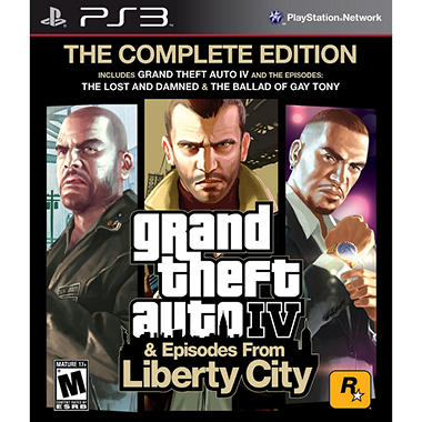 Grand Theft Auto IV: Complete Edition - PS3
