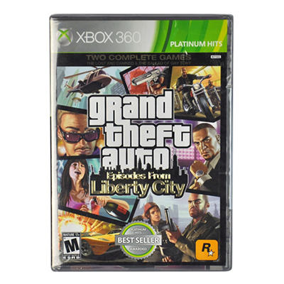 Grand Theft Auto:Episodes from Liberty City-X360