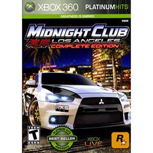 Midnight Club: Los Angeles Platinum Hits- Xbox 360