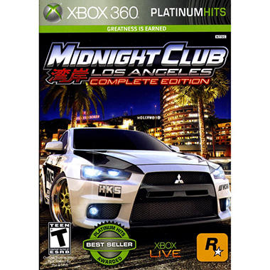 Midnight Club: Los Angeles Platinum Hits- Xbox 360
