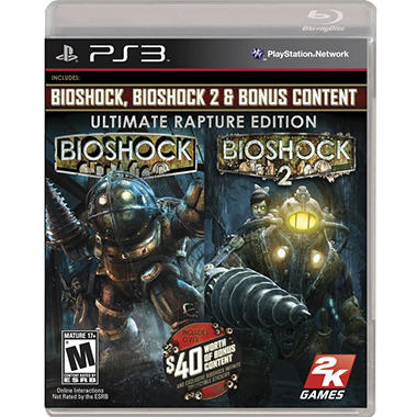 BioShock Ultimate Rapture Edition - PS3