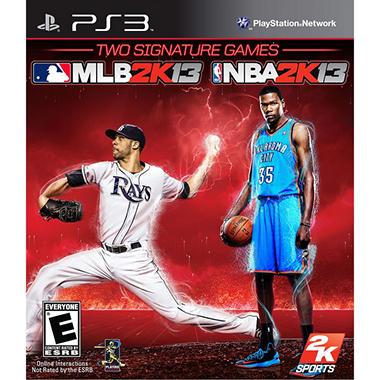 MLB 2K13 & NBA 2K13 - PS3