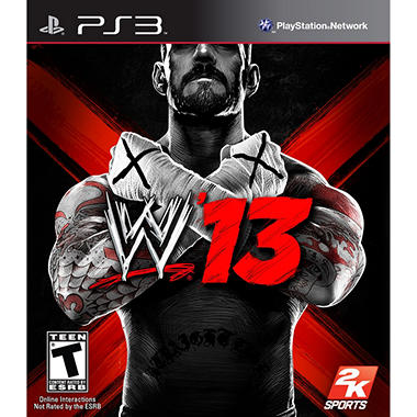 WWE '13 (2K Sports) - PS3