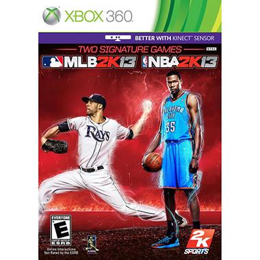 MLB 2K13 & NBA 2K13 - Xbox 360
