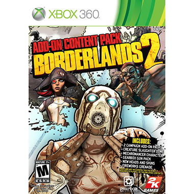 Borderlands 2: Add-On Content Pack - Xbox 360