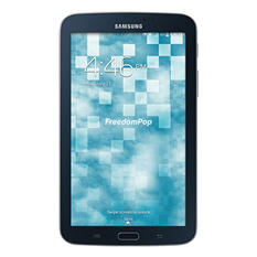 "FreedomPop 7"" Samsung Galaxy Tab 3 WiFi + Cellular Tablet - 100% Free 4G LTE Wireless Internet"