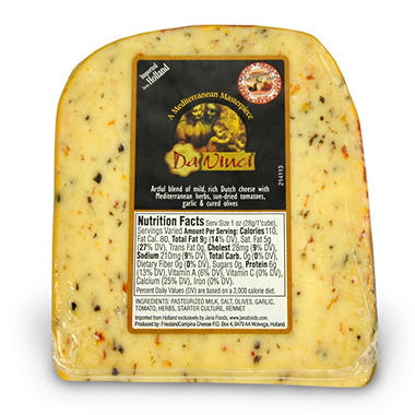 Da Vinci Herbed Gouda Cheese - 1 lb.