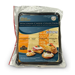 Great Midwest Single Variety Cheese Tray (2 lb.)