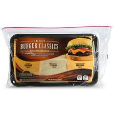 American Burger Classics Variety Cheese Tray (2 lbs.)