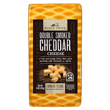 Black Creek Double Smoked Cheddar Cheese (16 oz.) - Sam's Club