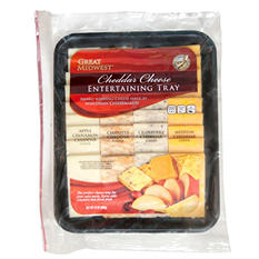 Great Midwest Cheddar Cheese Entertaining Tray (1.5 lbs.)
