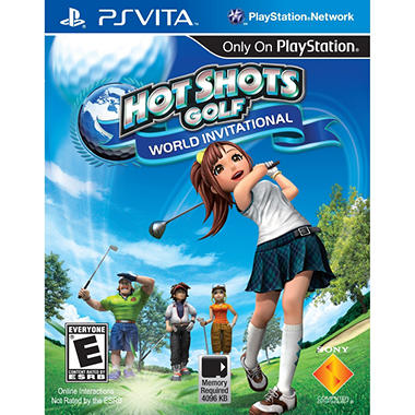Hot Shots Golf: World Invitational - PS Vita