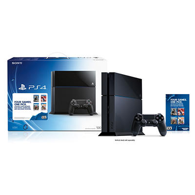 Four Games. One Pick. PlayStation 4 Bundle