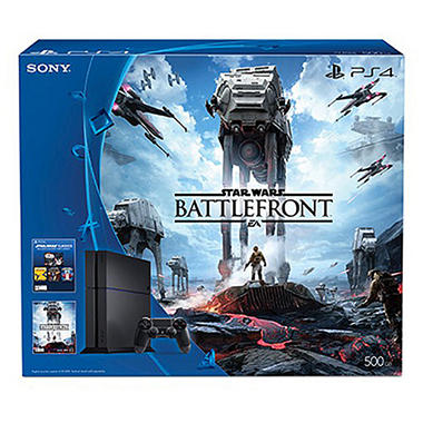 PlayStation 4 500GB Star Wars Console Bundle