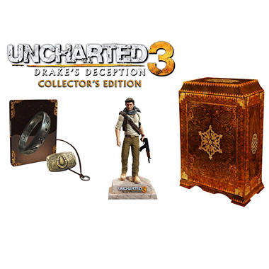 Uncharted 3: Drake's Deception Collector's Edition - PS3