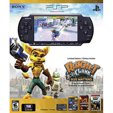 Ratchet & Clank PSP Entertainment Pack Black