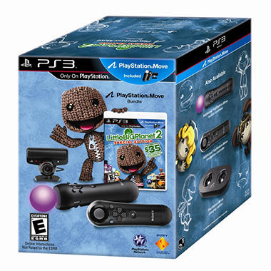 PS3 Move Bundle with Navigation Controller and Little Big Planet 2 Special Edition