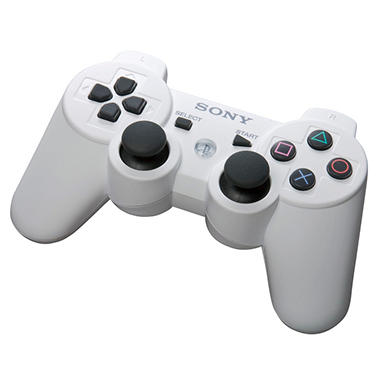 Sony White Dual Shock 3 Controller for PS3