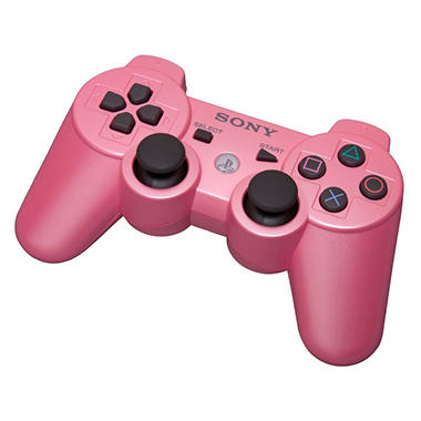 Sony Pink Dual Shock 3 Controller for the PS3