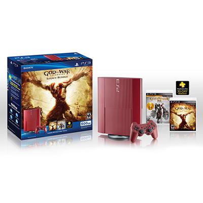 Playstation 3 500GB - God of War Bundle