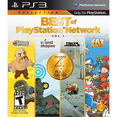 Best of PSN Volume 1 PS3