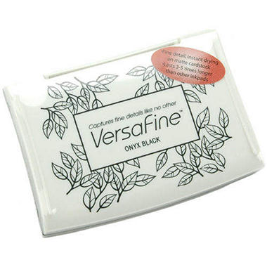 Versafine Inkpad-Onyx Black