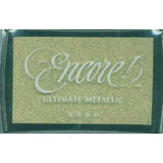 Encore Ultimate Metallic Inkpad-Gold