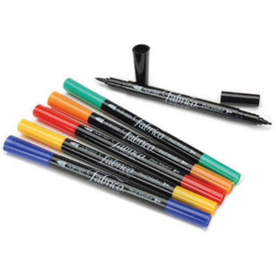 Fabrico Dual-Tip Markers 6/Pk-Standard