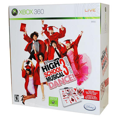 High School Musical w/ Dance Mat - Xbox 360
