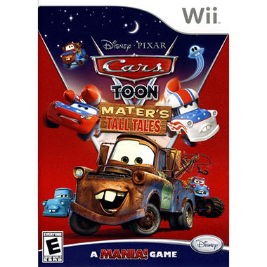 Cars Toon: Mater's Tall Tales - WII