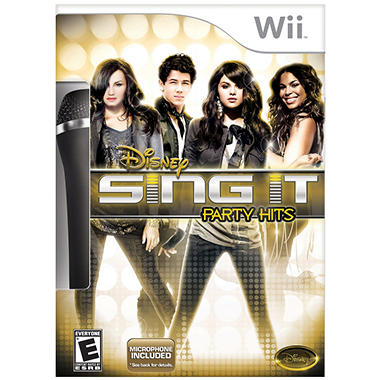 Disney Sing It: Party Hits Bundle - Wii