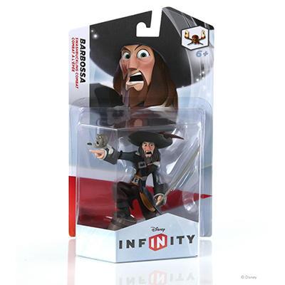 Disney Infinity Single Figure Pack - Capt. Barbossa