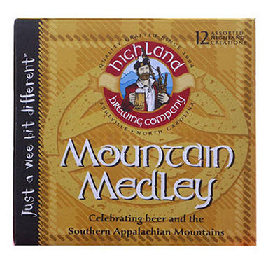 HIGHLAND  MEDLEY 12 / 12 OZ BOTTLES