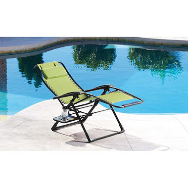 Oversized Anti-Gravity Suspension Lounger-Green