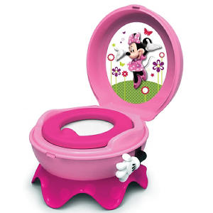 TOMY Disney Baby Minnie Mouse 3-in-1 Celebration Potty System