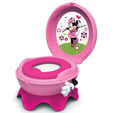 Tomy Disney Baby Minnie Mouse 3 In 1 Celebration Potty