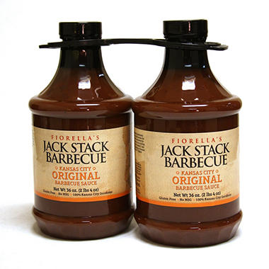 Jack Stack Barbecue KC Original Barbecue Sauce - 36 oz. - 2 pk.