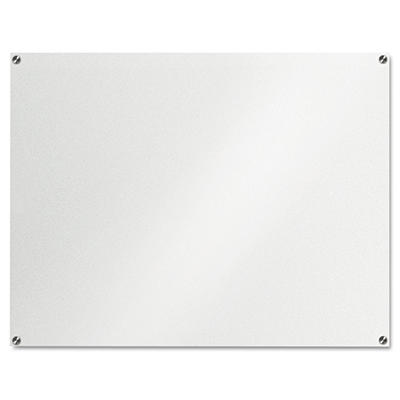 "The Board Dudes 48"" x 36"" Glass Dry Erase Board Unframed"