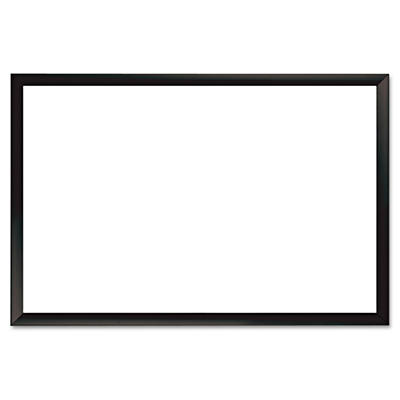 "The Board Dudes - Magnetic Dry Erase Board - Black/Aluminum - 36"" x 24"""