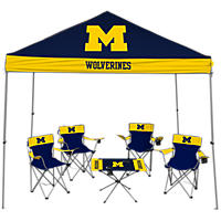 NCAA Michigan Wolverines Large Tailgate Kit