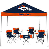 NFL Denver Broncos Large Tailgate Kit