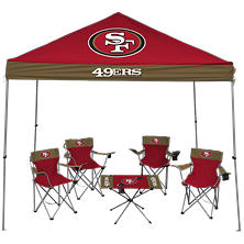 NFL San Francisco 49ers Large Tailgate Kit