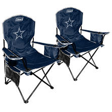 NFL Dallas Cowboys Cooler Quad Chair 2-Pack