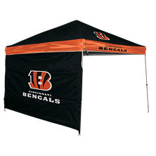 NFL Cincinnati Bengals Canopy 9 x 9 with Wall