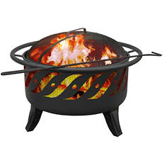 Patio Lights Firepit - Firewave - Black