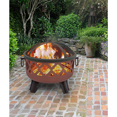 Garden Lights Sarasota Firepit - Choose Your Color
